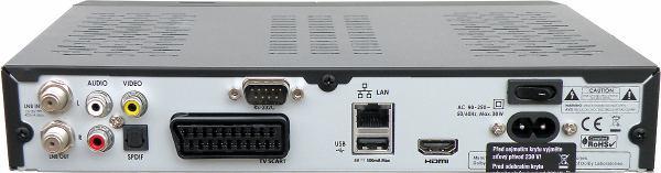 HD-BOX-FS-9105 zadní panel