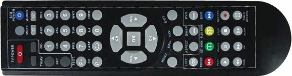 DI-Way ICE 7000HD dálkový ovladač