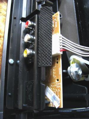 Sencor STV 2112DVBT - vnitřek VHS