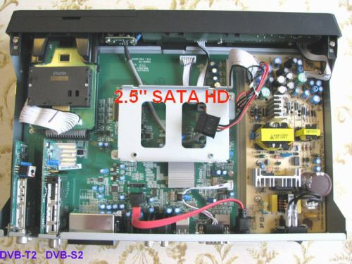IceCrypt STC6000HDPVR vnitřek