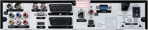 Unibox 9080 zadní panel
