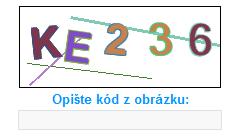 nepřístupná CAPTCHA na webu Idnes.cz