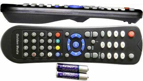Unibox 9080 dálkové ovládání