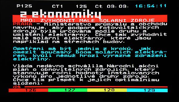 EVOLVE DT- 3010HD teletext