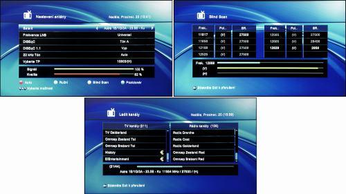 DreamSky DSR-9300 HD PVR blind scan