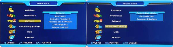 Opticum x403p HD menu 3