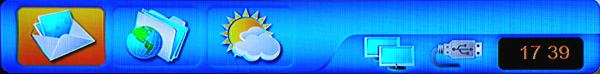 Amiko SHD-8900 Alien pošta počasí
