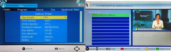 EVOLVE DT- 3010HD časovač