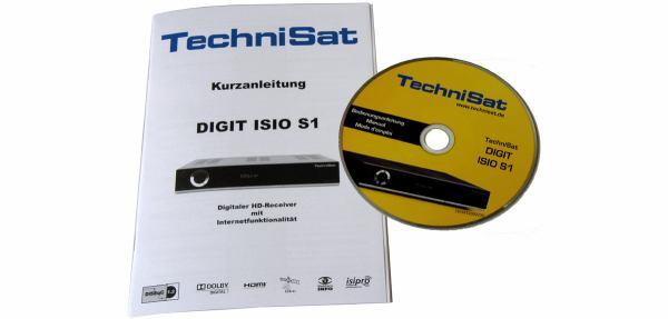 TechniSat Digit ISIO S1 manual