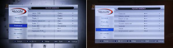 Mascom MC 2200 HDCI USB menu 2