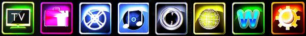 EVOLVE Blade DualCorder HD hlavní menu