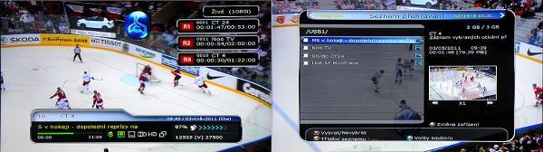 HD-BOX-FS-9105 nahrávání