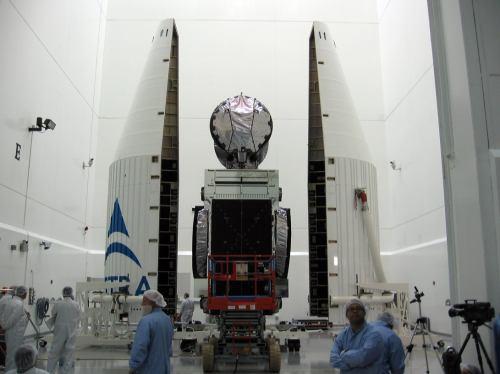 Příprava satelitu Astra 1 KR ke startu