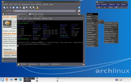 OpenBox 1 v KDE