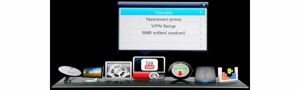DreamSky NXP256HD hlavní menu 3