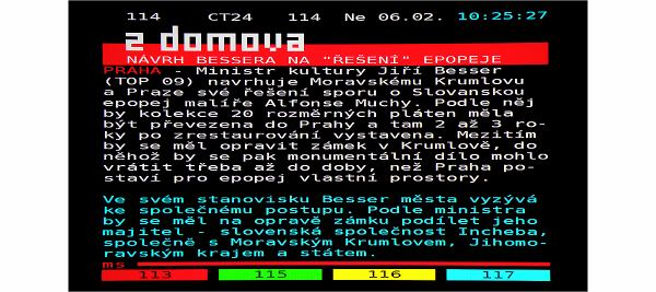 Humax IRHD-5100S teletext