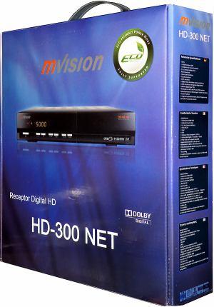 Set-top-box mVision HD-300 NET -  krabice
