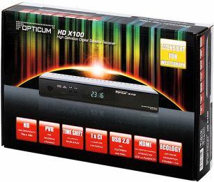 Opticum HD X100 krabice