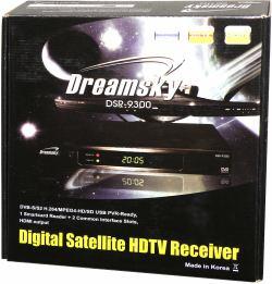 DreamSky DSR-9300 HD PVR krabice
