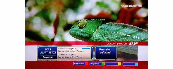 TechniSat Digit ISIO S1 HbbTV lišta