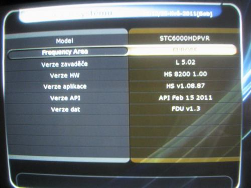 IceCrypt STC6000HDPVR verze firmware