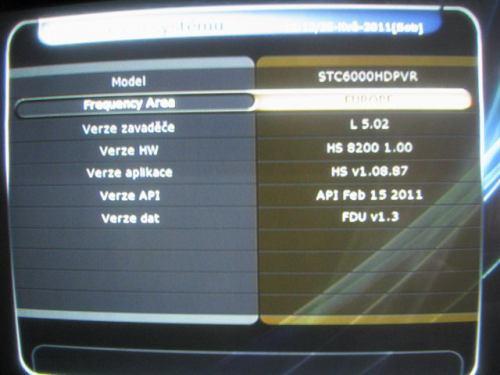 IceCrypt STC6000HDPVR verze firmware