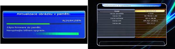 HD-BOX-FS-9105 aktualizace