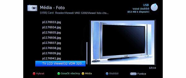 Humax IRHD-5100S menu foto
