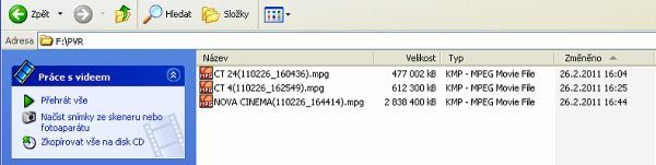 DI-WAYT-1000E nahrávky