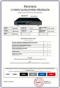 Zircon shd 007 certifikace