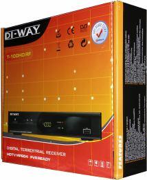 DI-WAY T-100HD krabice