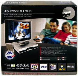 AB IPBox 910HD krabice
