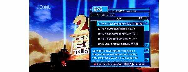 EVOLVE Blade DualCorder HD EPG