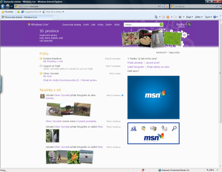 windows live home