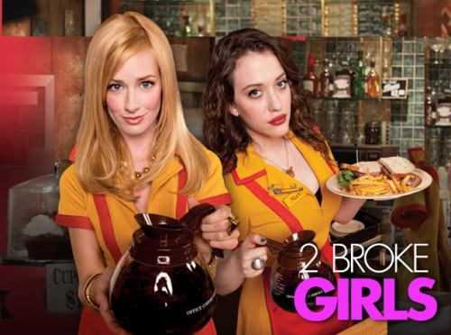 2 Broke Girls seriál