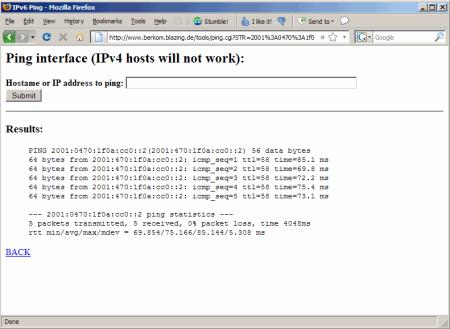 IPv6 test