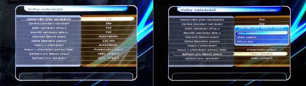 HD-BOX FS-7110 HD PVR nahrávání