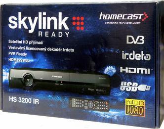 Homecast HS 3200IR krabice