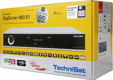TechniSat DigiCorder ISIO S1 krabice