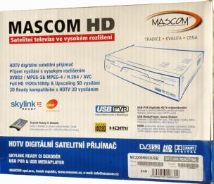 Mascom MC 2200 HDCI USB krabice