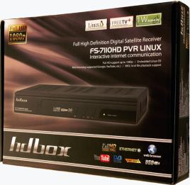 HD-BOX FS-7110 HD PVR krabice
