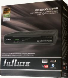 HD BOX IRD-8000 HD PVR krabice