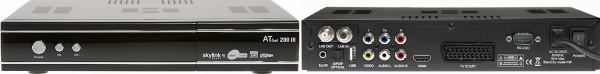 ATlink 100 IR zadní i přední panel
