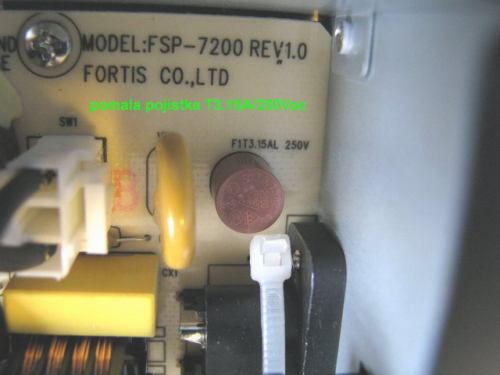 IceCrypt STC6000HDPVR pomalá pojistka