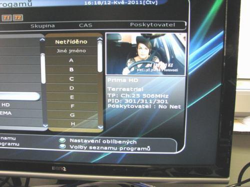 IceCrypt STC6000HDPVR příjem DVB-T2