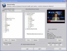 Pinnacle PCTV Hybrid Stick Pro 340e - přehled kanálů