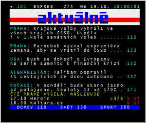 Pinnacle PCTV Hybrid Stick Pro 340e - teletext