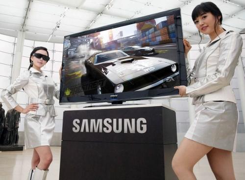 3D televize - Samsung