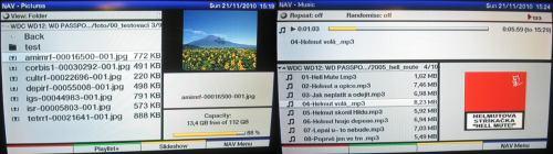 TechniSat HDFV - media