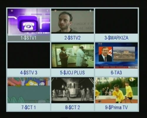 Opensat 3000CR PVR další funkce